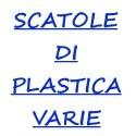Scatole di plastica