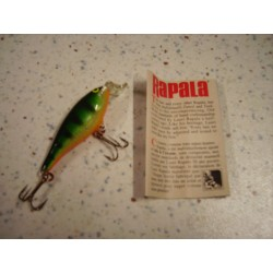 RAPALA SHAD RAP SSR-5 P_5cm/5gr PERCH