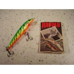 RAPALA ORIGINAL F-9 FT_9cm/5gr FIRE TIGER