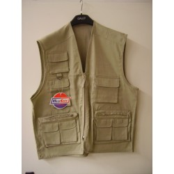GILET COLOR BEIGE_BLU CITY_VARIOUS SIZES