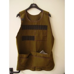 GILET/APRON COLOR BROWN_HUNTING