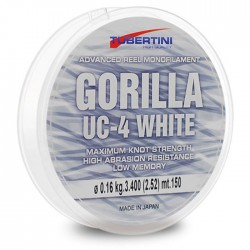 GORILLA UC-4 WHITE TUBERTINI 150mt_VARIOUS DIAMETERS