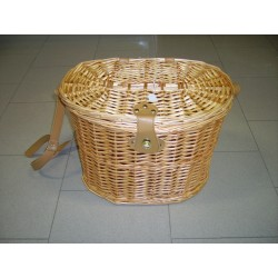 WICKER BASKET MUSHROOMS HARVEST OR FISHING