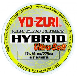 YO-ZURI HYBRID ULTRA SOFT 250mt_VARIOUS DIAMETERS